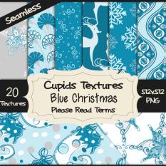 20 BLUE CHRISTMAS