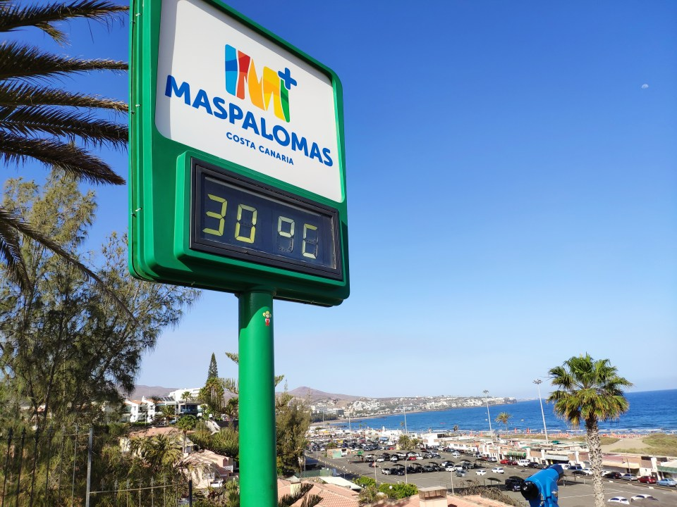 Weather Maspalomas Gran Canaria