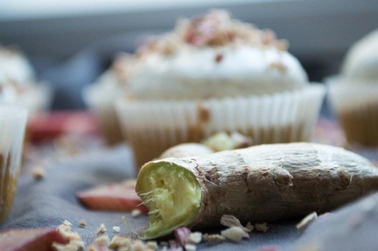 Rabarbercupcakes med ingefær og vanilje 003