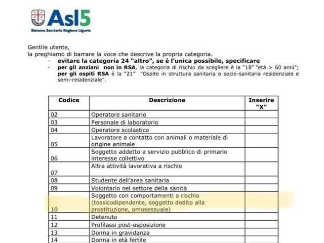 Omosessualità comportamento a rischio per il vaccino: la polemica contro l'Asl