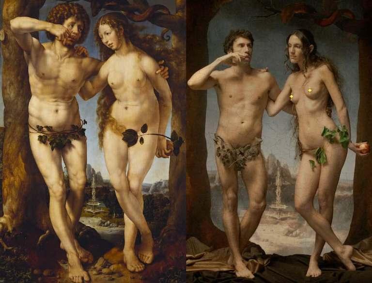 """""""Classic Nudes"""": Pornhub celebra i nudi della storia dell'arte"""