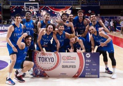 Basket Olimpiadi 2021: la nazionale italiana al torneo pre-olimpico