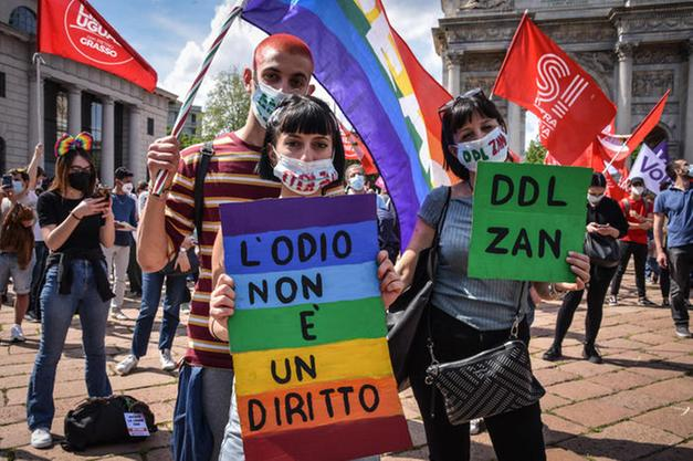 DDL Zan: oggi richiesta di sospensiva e discussione generale