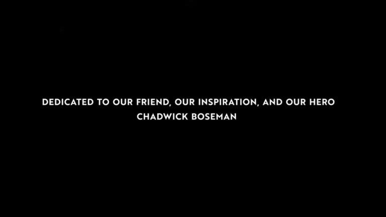 Chadwick Boseman: a un anno dalla morte di Black Panther
