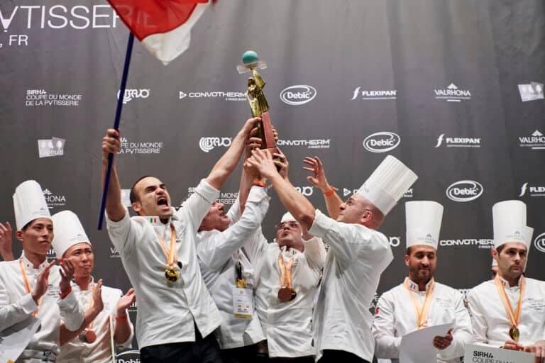 L'Italia che non smette di vincere: abbiamo preso anche il campionato del mondo di pasticceria