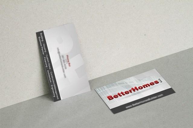 Business Card - Phong Bui Construction