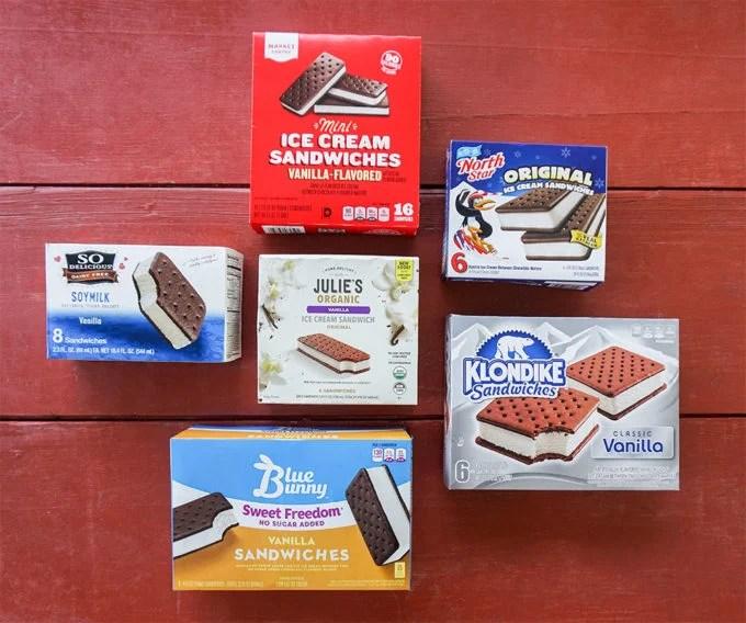 Ice Cream Sandwich Taste Test