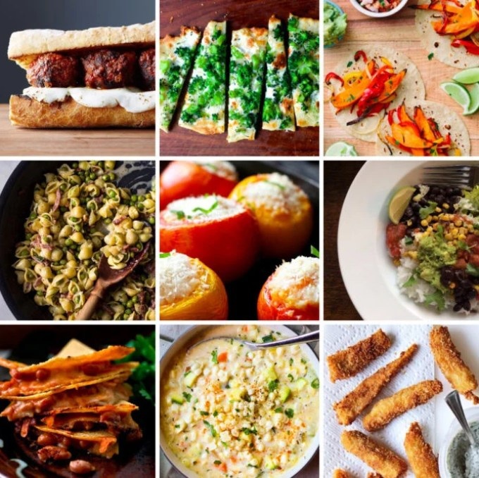 9 Easy Family Dinners