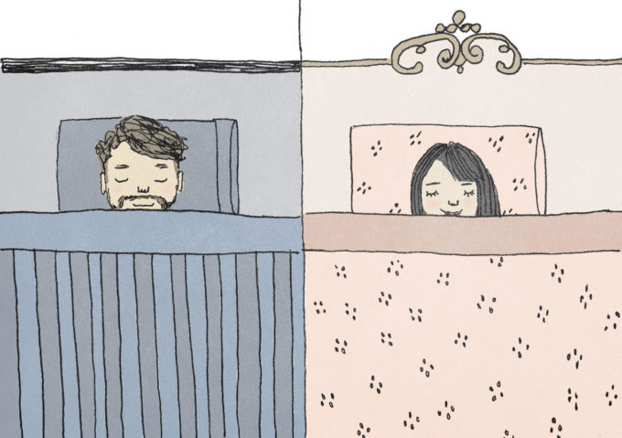 My Husband and I Sleep in Different Bedrooms