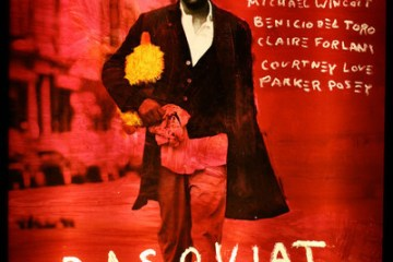 Basquiat 1996 movie poster