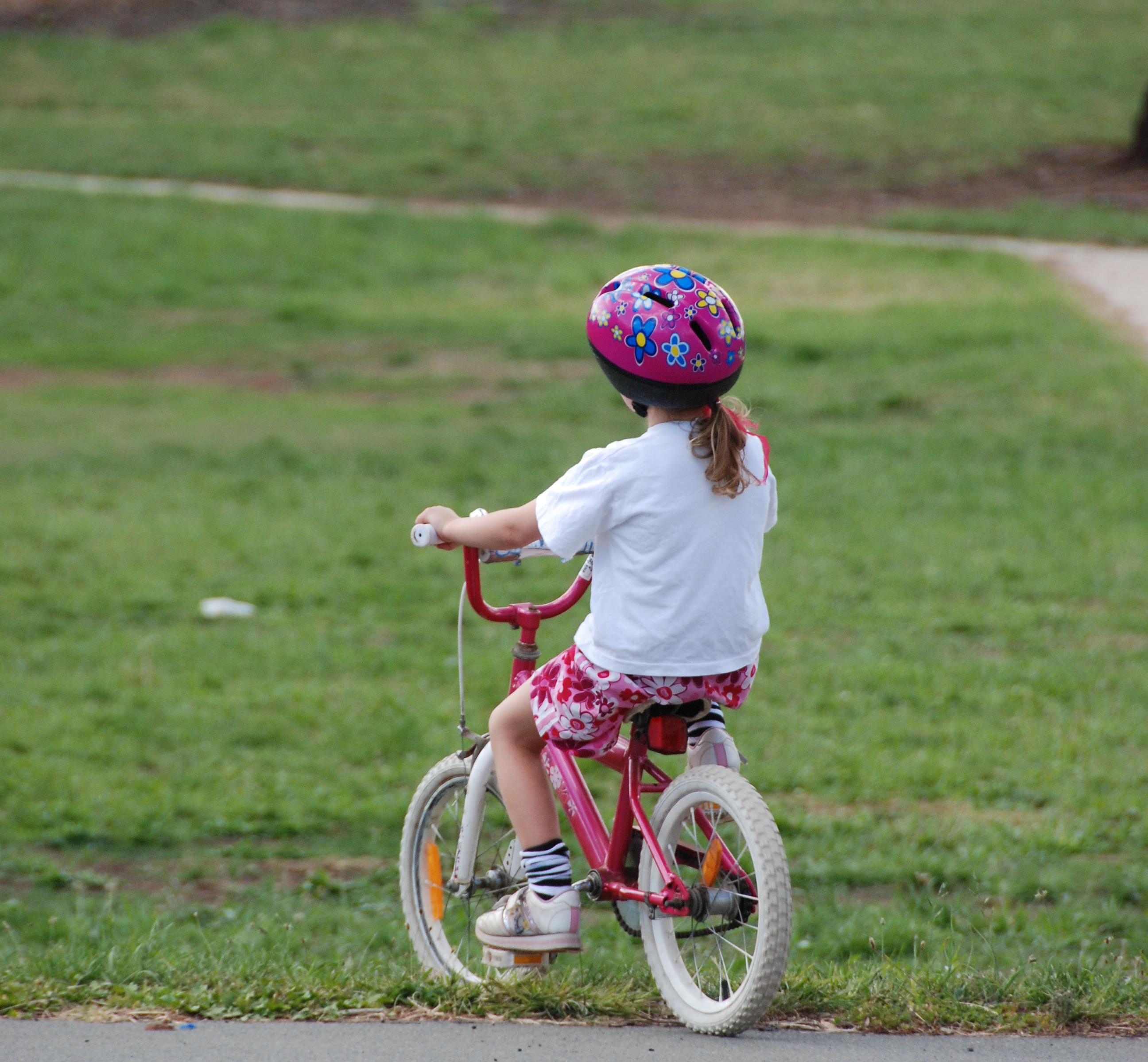 Learning To Ride A Bike X 4