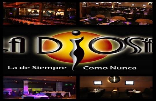 La Diosa restaurant con cena show karaoke y boliche