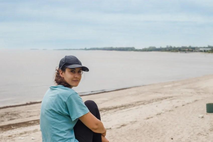 Uruguay beaches Colonia coastline