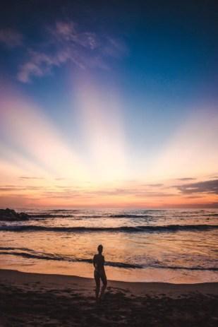 Nicaragua best countries to visit in Latin America Central sunset in Las Peñitas Granada