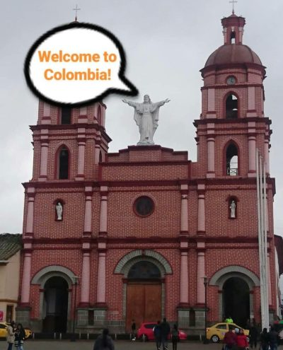 ipiales colombia welcome south border ecuador crossing overland Colombia travel tips