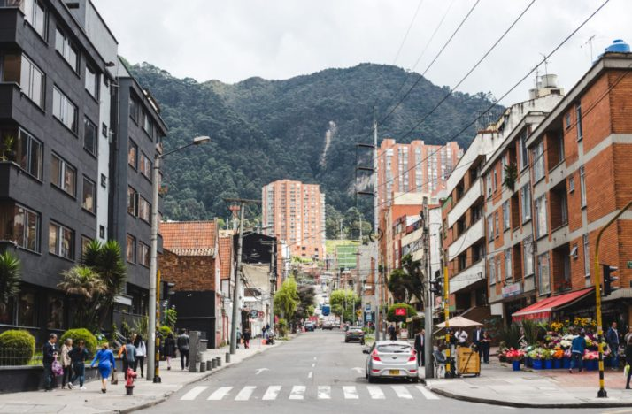 rosales chapinero is bogota safe | where to stay in bogota colombia best barrios