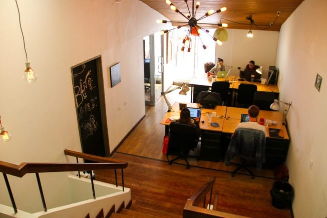CoWo Bogotá coworking space Chico Norte | Best places for digital nomads in Bogotá, Colombia | Travel guides by Cuppa to Copa Travels