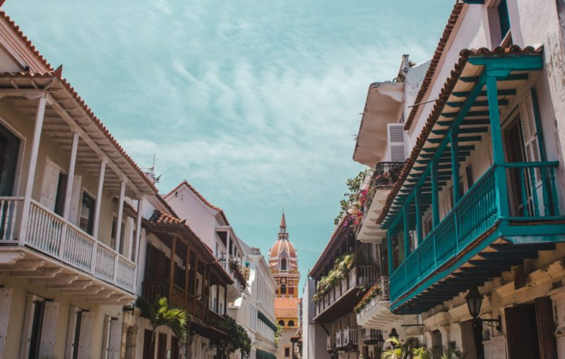 best places to stay in Cartagena Colombia: walled city central hotels hostels