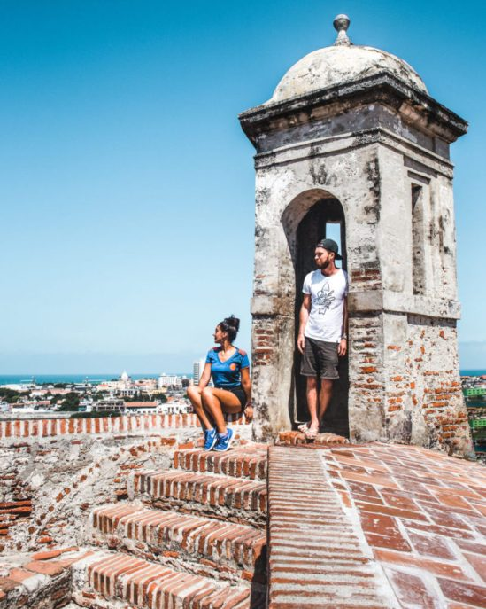best things to do in Cartagena Colombia: castillo de San Felipe castle