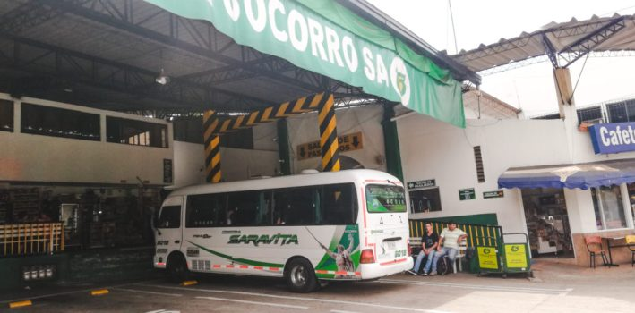 Socorro bus terminal | How to get to Las Gachas at Guadelupe from San Gil or Barichara