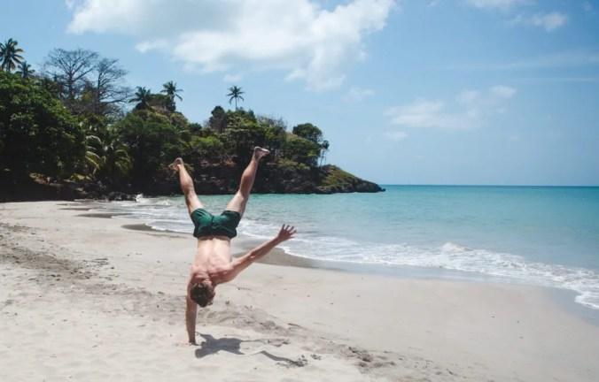 Freshwater beach, Isla de Providencia Island. Crab Cay Boutique Lodge Hotel Isla de Providencia Island, Colombia accommodation review: Colombia travel guide by Cuppa to Copa Travels