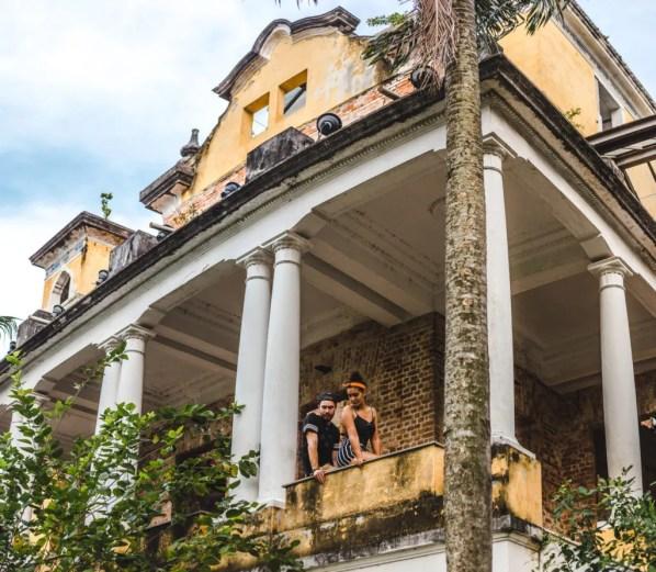 Parque Ruinas Santa Teresa Rio de Janeiro Cuppa to Copa Travels South America Guides travel couple