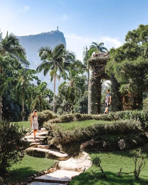 Jardim Botanico Rio de Janeiro travel couple south america guides