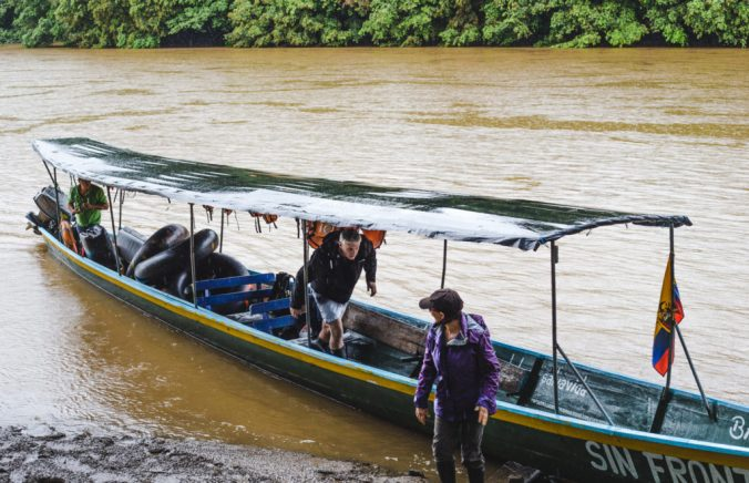 D'gouti river tour what to do Puerto Misahuallí Ecuador Amazon Rio Napo