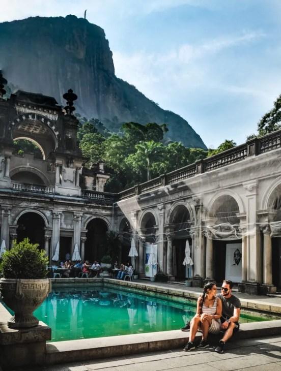 Parque Lage Jardim Botanico Rio de Janeiro travel couple south america guides