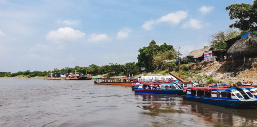 chalupa magangue colombia magdalena river | How to get to Mompox Colombia Magdalena travel guide | South America travel off the beaten path Colombia