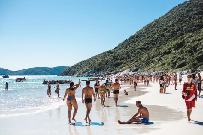 Praia Farol Arraial do Cabo beaches Brazil | Cuppa to Copa Travels South America Guides