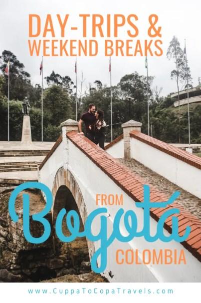 Puente de Boyacá bridge Tunja Bogotá weekend breaks from Bogotá daytrips