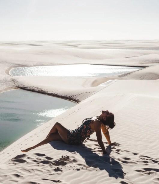 jeep tour in Lencois Maranhenses Maranhao Brazil beach sand dunes sao luis