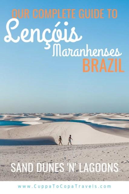 Lençóis Maranhenses: sand dunes 'n' lagoons in Brazil