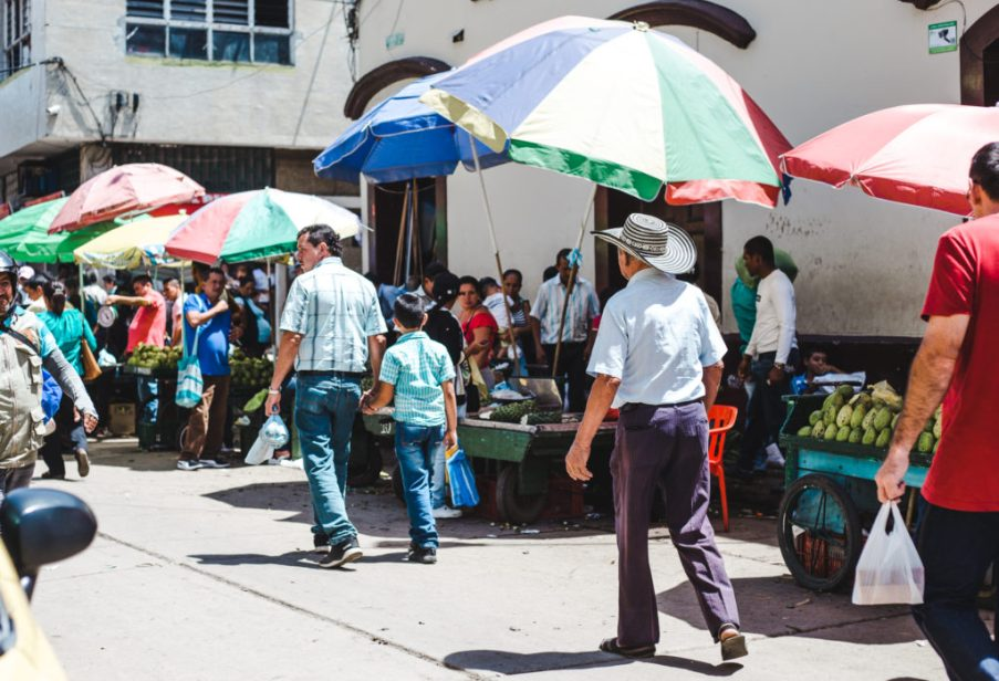 Fruit markets in San Gil Santander Colombia | things to do in San Gil adventure activities for adrenaline junkies South America