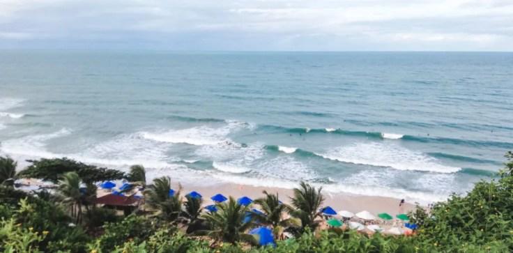 Surf Kayak with wild dolphins pipa brazil beaches praia do amor