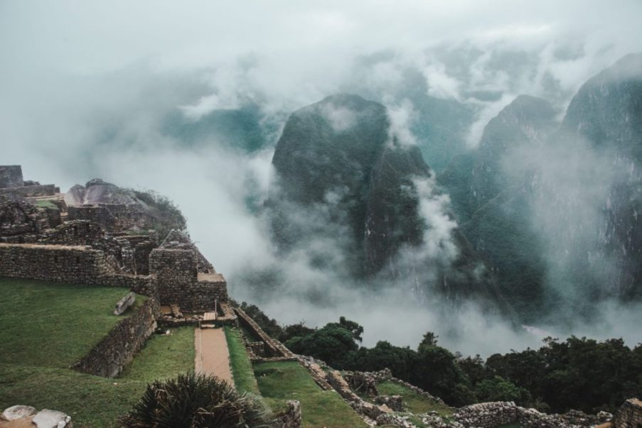 different angle of Machu Picchu peru how to get there