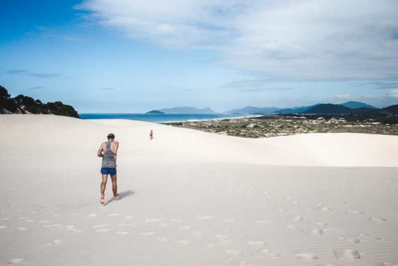 Dunas Joaquina sand dunes Florianopolis travel guide Floripa Brazil