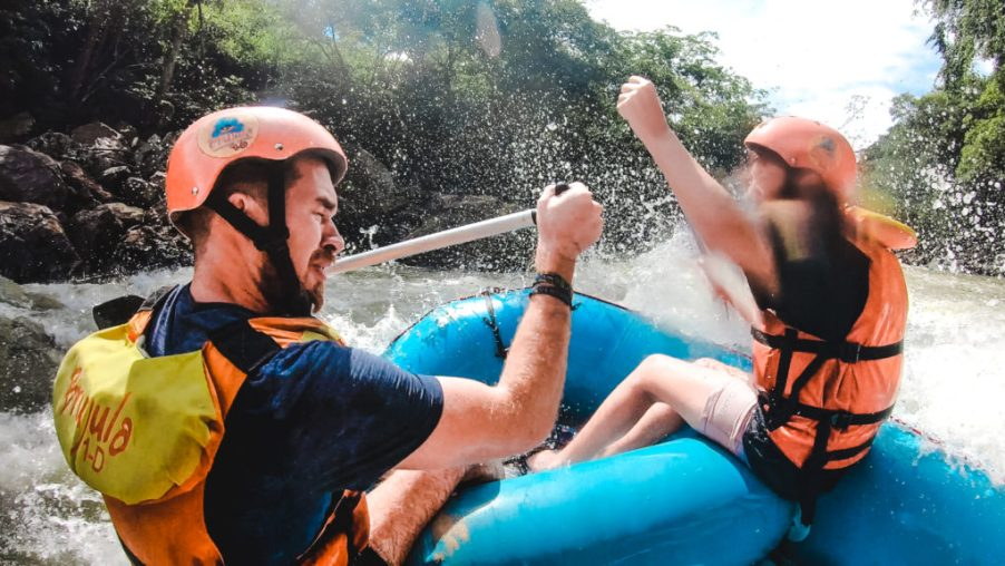 Rio Fonce level 3 white water rafting Colombia safety of San Gil Santander Colombia | things to do in San Gil adventure activities for adrenaline junkies South America