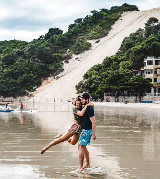 Natal Morro sand dune 2 weeks north Brazil itinerary: North-East Brazil things to do