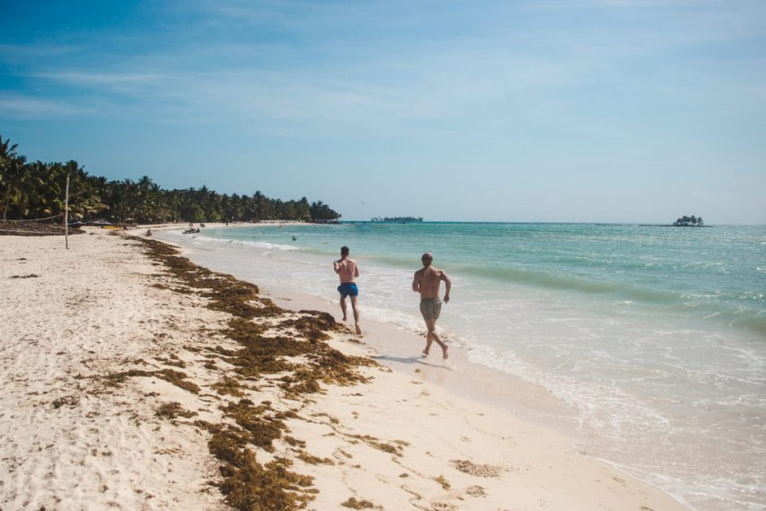 renting a buggy on san andres Rocky Cay beach san andres colombia island guide