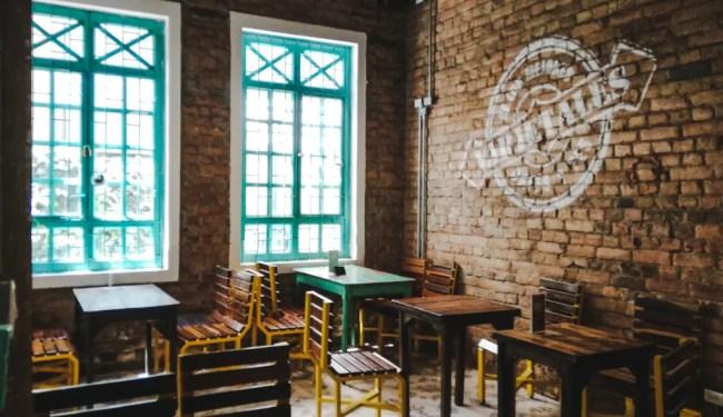 Varietale Javianera coffee shop | Best workspaces for digital nomads in Bogota Colombia