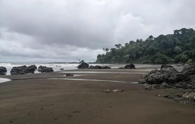 Secret beach hike el valle colombia chocó
