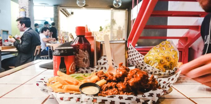 La Cosmica chicken pollo bogota restaurant colombia kpop
