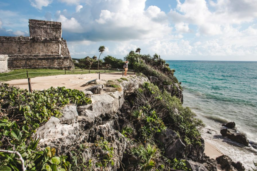 how to see the tulum ruins and when's the best time to go   ancient mayan ruins tulum mexico