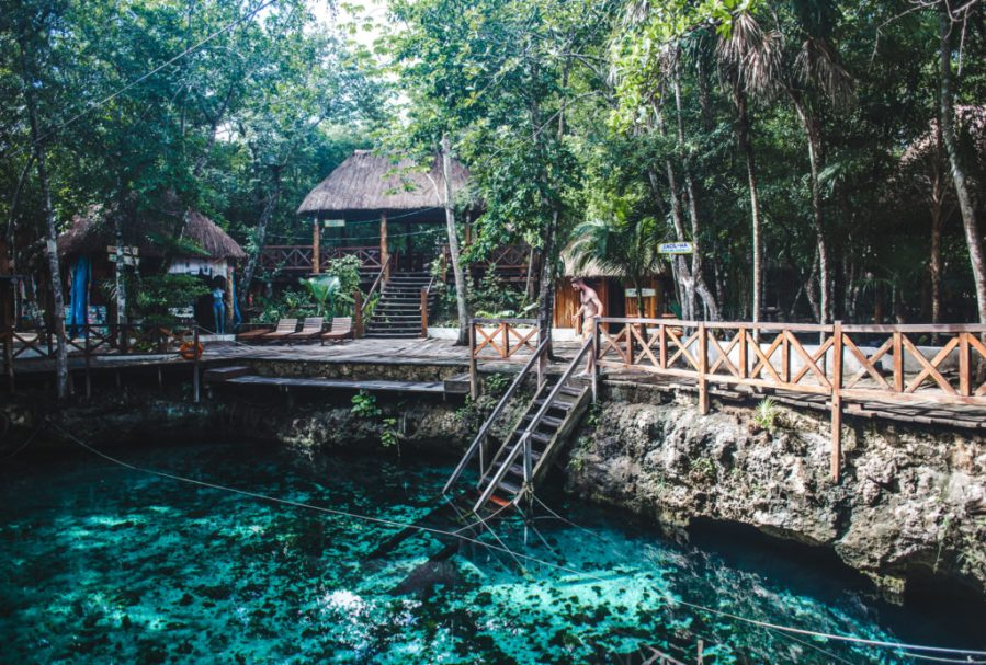 What are Tulum cenotes   things to do in Tulum with a bike or car hire Mexico