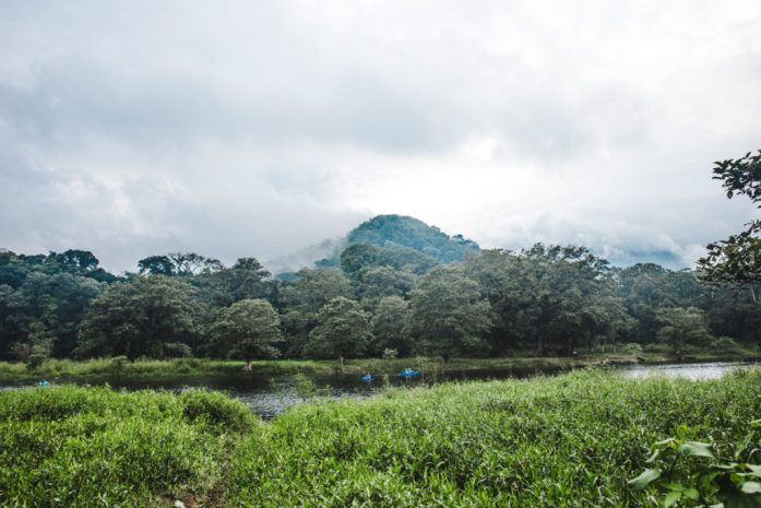 Hire kayak lake yojoa things to do honduras lago de yojoa Pulhapanzak Waterfall