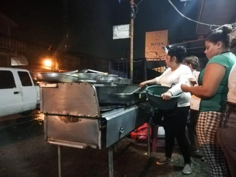 where to eat lake yojoa honduras street food peña blanca