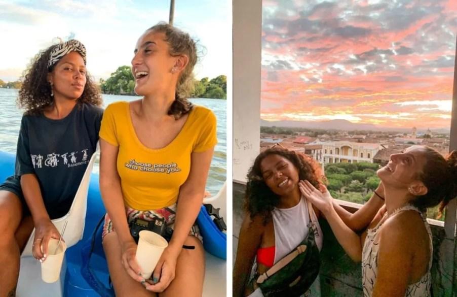female solo travel vs couple travel