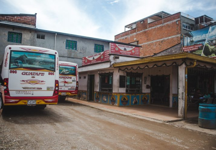 Bus travel cost of living in Colombia
